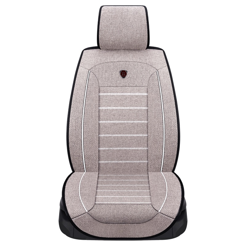 New high quality flax Car Seat Covers Universal Auto Comfortable for peugeot All Models 205 307 206 308 407 207 406 408 301 3008 linen car seat covers for peugeot 205 206 207 2008 3008 301 306 307 308 405 406 407 car accessories styling page 7