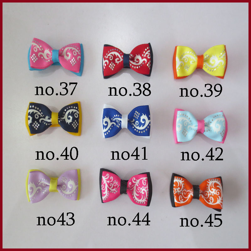 200 BLESSING Good Girl costume Boutique 3 Inch ABC Hair Bows clip 474 No.