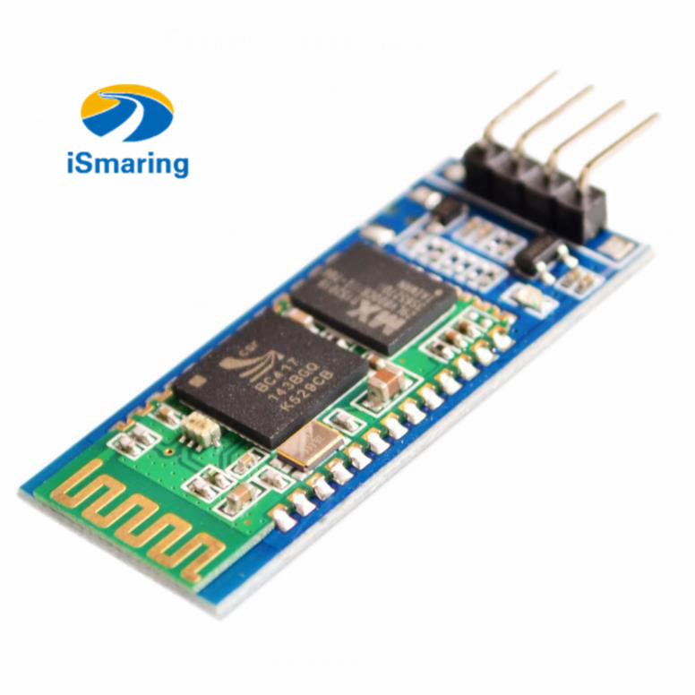Official iSmaring <font><b>HC06</b></font> HC-06 Wireless Serial 4 Pin Bluetooth RF Transceiver Module RS232 TTL for <font><b>Arduino</b></font> Bluetooth Module image