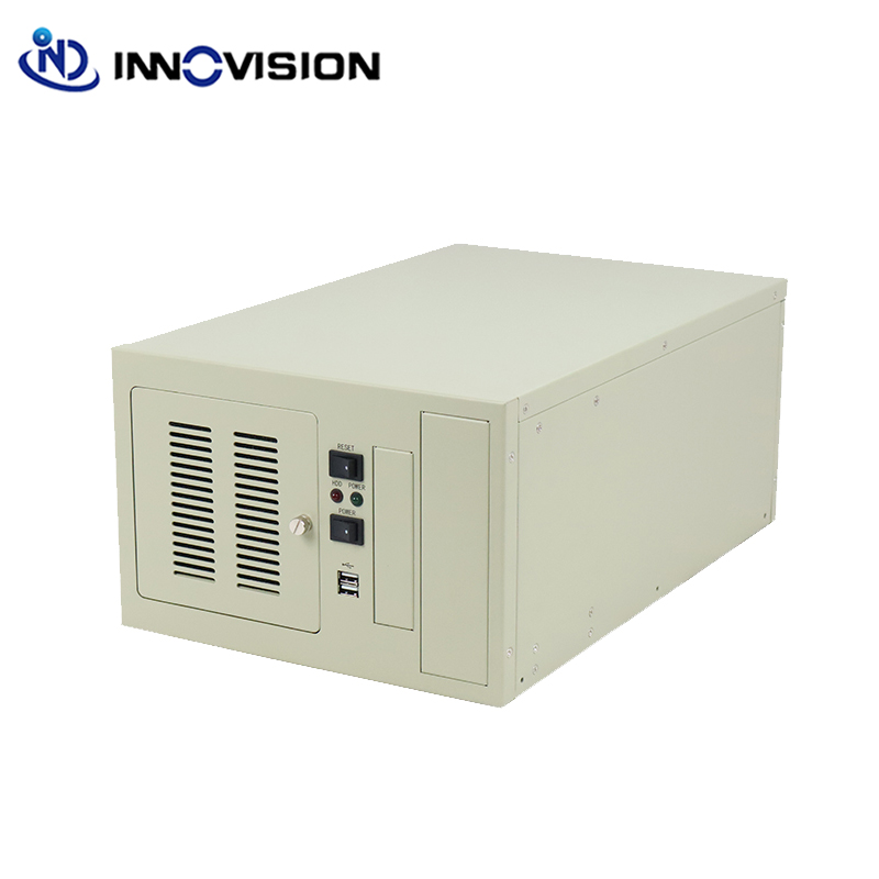 Image 2 - Compact wallmounted chassis IPC2406C industrial computer case supporting 6slot industrial ISA backplane-in Industrial Computer & Accessories from Computer & Office