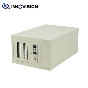 Image 2 - Kompaktowy wallmounted podwozie IPC2406C przemysłowe obudowa komputera wspieranie 6 gniazdo przemysłowe, aby zamówić ofertę ISA płyta montażowa