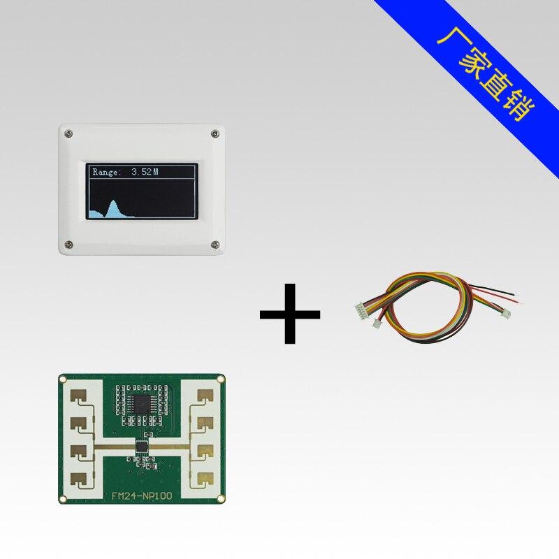 24GHz Microwave Ranging Radar+Display Human Sensor Level Radar Sensor FMCW