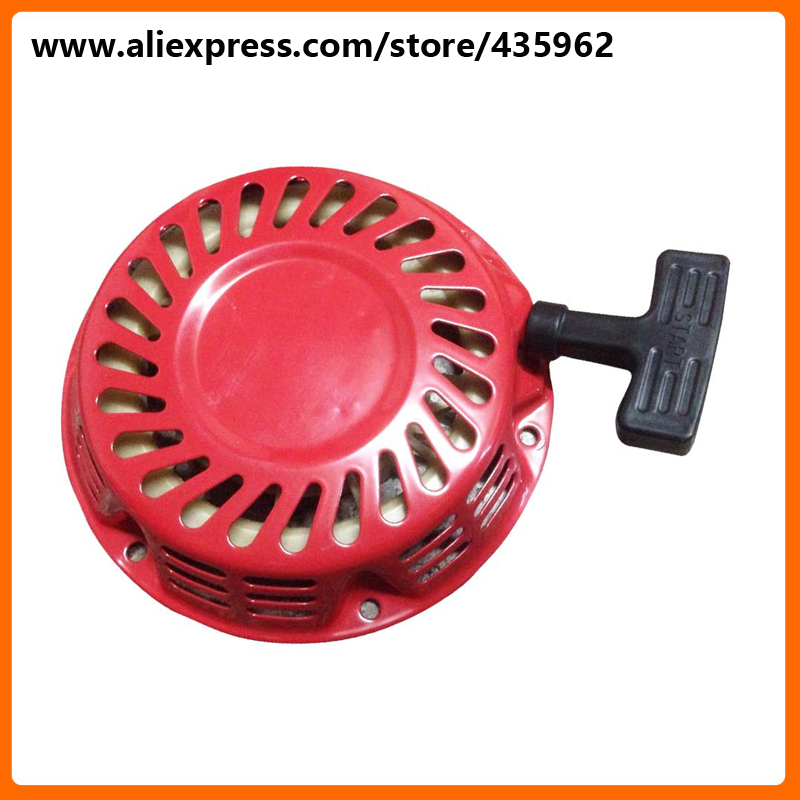 Recoil Starter Assembly for 650 950 GX160 GX200 Gasoline Generator Engine 168F 170F 2kw to 3kw High Quality Spare Part