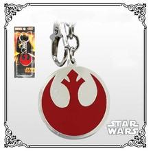 wholesale retail Hot Science movie starwars keychain red Zinc Alloy Metal keyring 10piece/lot