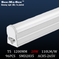 t5 led tube 20W,1200mm,1.2m,120cm,AC85-265V,SMD2835, 20PCS/Lot, warranty 2 years,SMTB-15-12