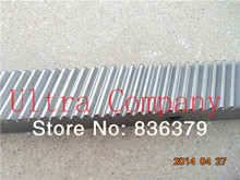 5pcs/lot 1.25mod Gear rack precision cnc rack (Oblique teeth) cnc router rack 22 * 25 * L671mm