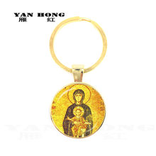 Yanhong jewelry, crystal glass, hand-made key chains, the Virgin Mother bless peace and smooth, is the best gift to wear to frie(China)