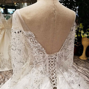 Image 5 - AIJINGYU Wedding Dress Turkey Arabic Gowns engagement Sexy Newest Cheap Attire Mexican Gown Lace Bridal Dresses For Sale