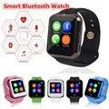 D3 c88 bluetooth smart watch para crianças dos miúdos para suporte por telefone android sim tf passometer rastreador de fitness heart rate relógio de pulso