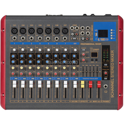 MiCWL 9 Channel Bluetooth Karaoke Microphone Mixing Console Mixer for Stage Studio Recording SMR900-USB