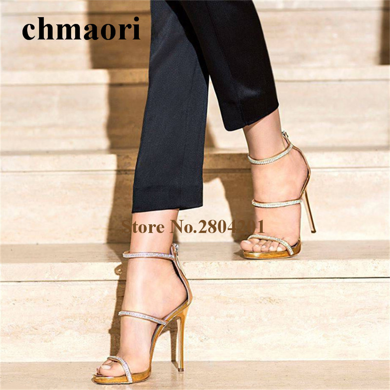 woman  summer fashion Solid Zip ankle strap cover heel Thin heels Narrow Band  sandals super high shoes dress wedding sandals summer newest woman sandal thin heels high heel shoes 2017 solid red leather ankle buckle strap sandals rivets studded shoes