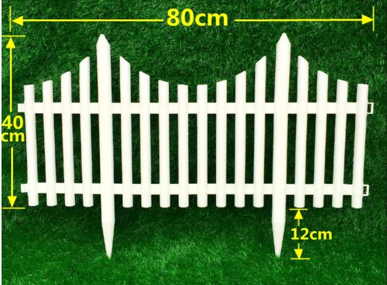 free insert fencewhite plastic fence wedding decoration