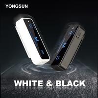YONGSUN Kleinste Mini Walkie Talkie 0,5 Watt UHF 400-470 Mhz PMR Schinken Radio FM Transceiver Zweiwegradio USB Lade + Headset 2 STÜCKE