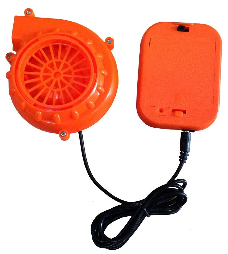 Mascot Costume Head Fan Head Cooling System Small Fan