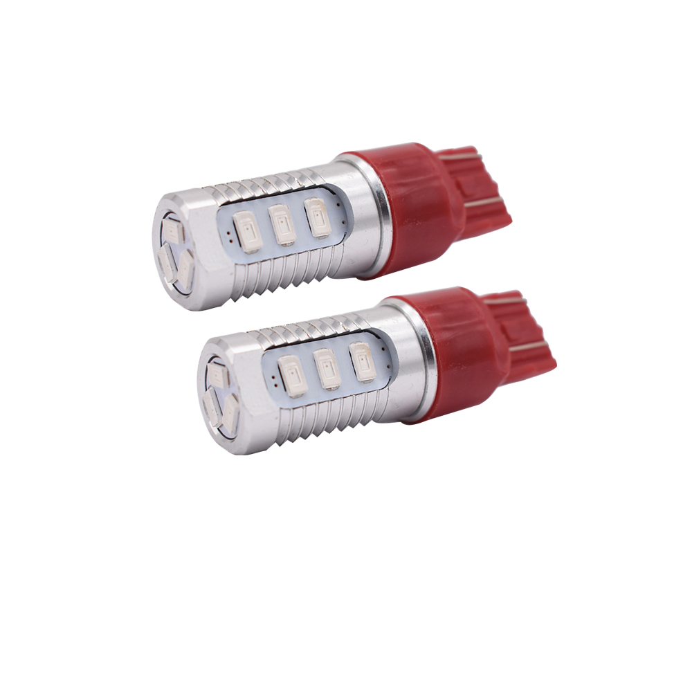2PCS T20 7443 3157 12smd Car led High powerTurn Signal Lights Parking lights Day Running Lights Brake reverse lights DC12V in Car Headlight Bulbs LED from Automobiles Motorcycles