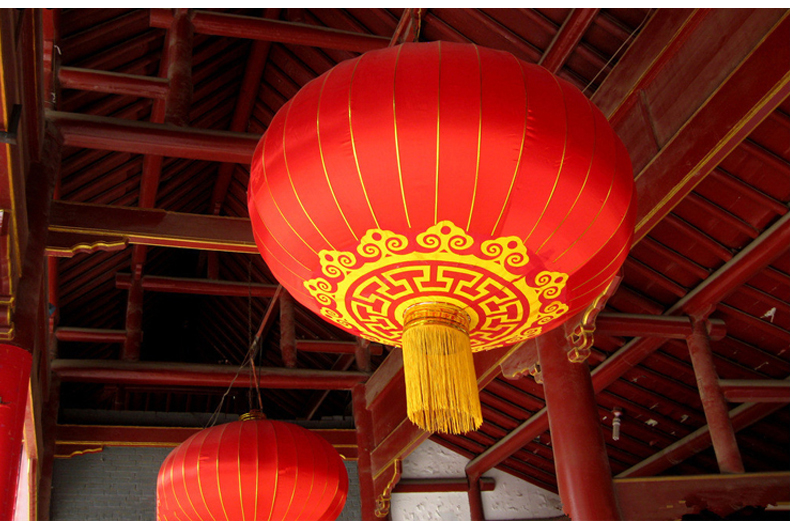 Chinese Red Lanterns 40cm Chinese New Year Festival