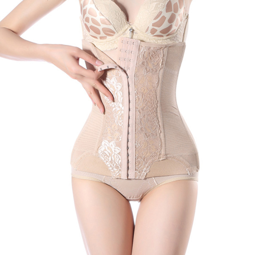 2015 New womens waist trainer corsets to reduce weight shapewear hot slimming belt waist cincher trainer body burn