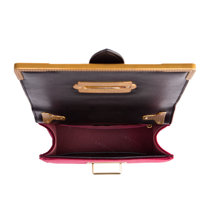 LAFESTIN Femmes sac à bandoulière sac à main en velours Marques 2018 Conception De Luxe Célèbre Designer sac à bandoulière Feminina qualité supérieure - 5