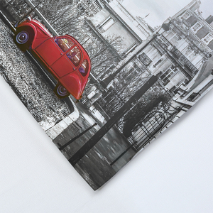 Image 5 - LOVINSUNSHINE ผ้าปูที่นอนชุดผ้าคลุมเตียง Queen ชุด City View 3D การพิมพ์ดิจิตอล Parrure De Lit AB #65