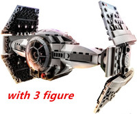 354pc Star Wars 10373 Force Awakens TIE Advanced Prototype Building Blocks Toys For Children Gifts Kids