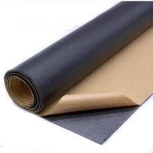 Adesivo de couro pu de 135x50cm, subsídios fixos autoadesivos simulação da pele desde o sofá de couro adesivo de borracha tecidos