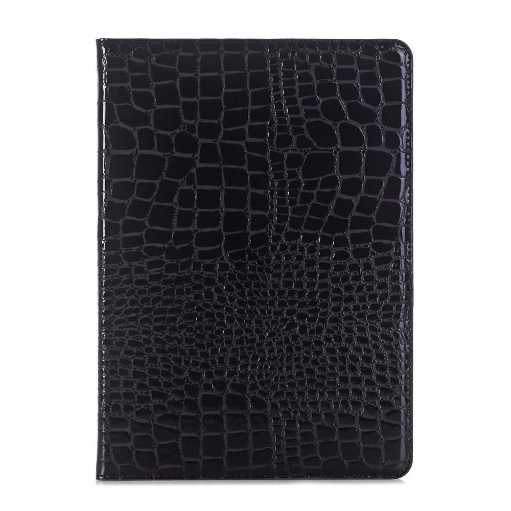 Case For Apple Ipad 2 3 4 Ipad2 Ipad3 Ipad4 9.7 Smart Case Cover Funda Tablet Crocodile Leather Smart Sleep Slim Stand Shell