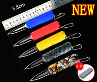 Fbiqq карман пустыне выживания Открытый нож самообороны мини нож крошечный портативный Multi складной нож