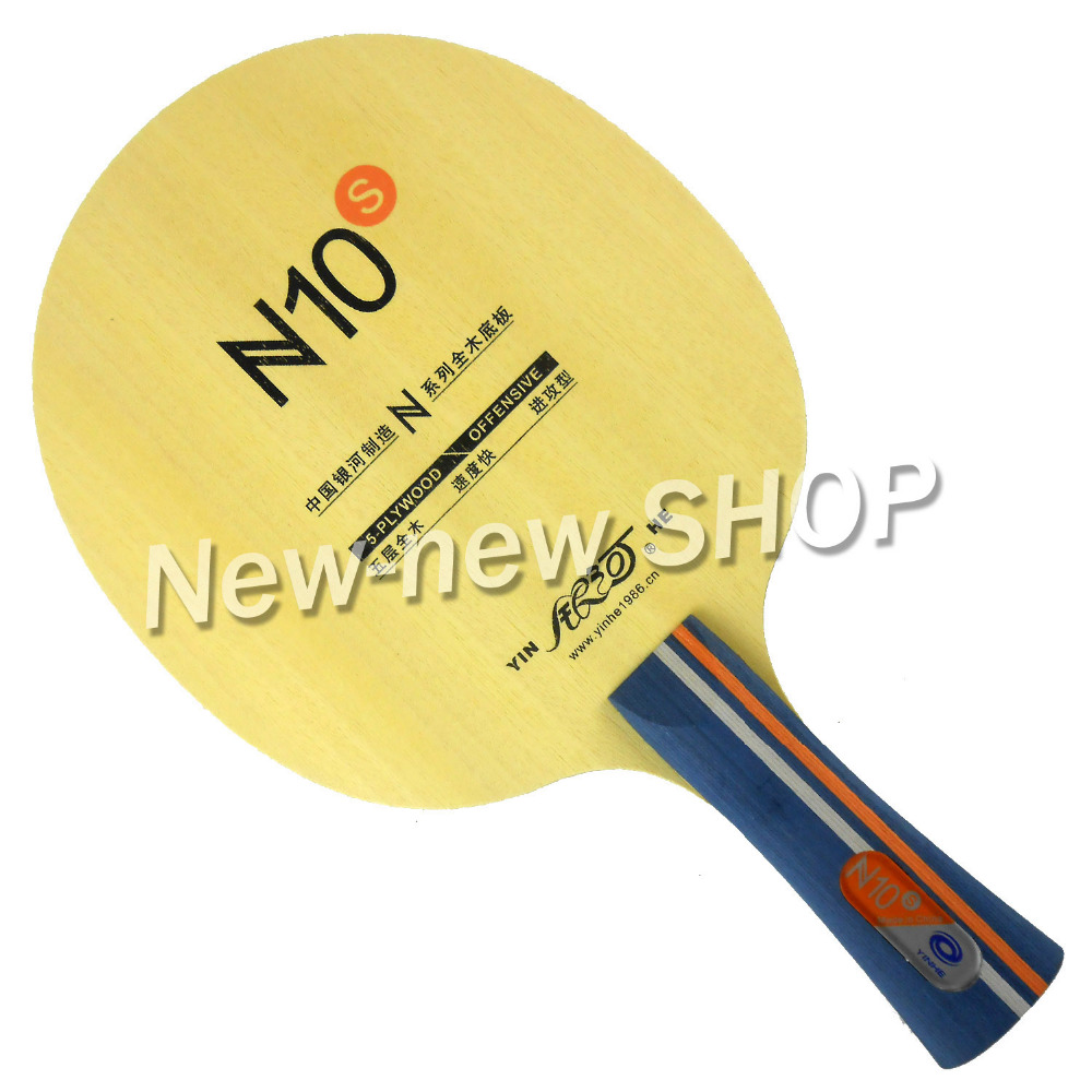 Yinhe Galaxy Milky Way Blade N10s N 10s N-10s OFFENSIVE For Table Tennis Racket Balls Racquet Sports Pingpong Bat