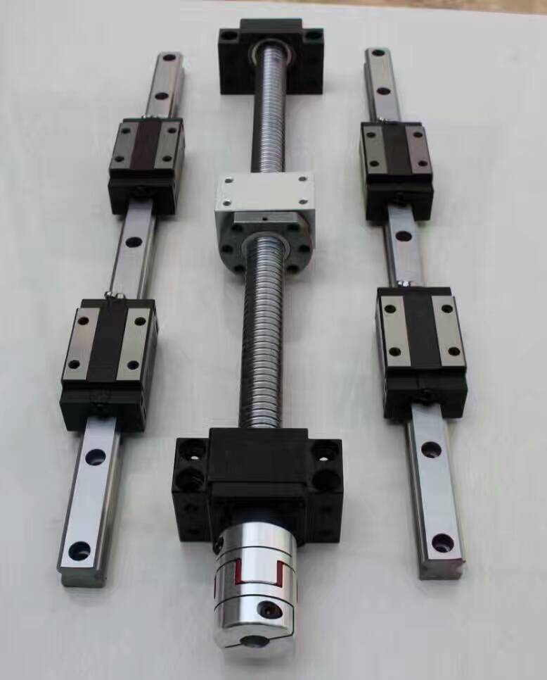 12 HBH20CA Square Linear guide sets + 3 x SFU605-265/515/565mm Ballscrew sets + BK BF12 +3 jaw Flexible Coupling Plum Coupler 6 sets sbr16 square linear guide sets 3 x sfu1605 450 1050 1650mm ballscrew sets bk bf12 3 jaw flexible plum coupler