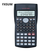 FXSUM School Student Function Scientific Calculator Multifunctional Calculating Machine Stationery Calculadora Cientifica Gifts