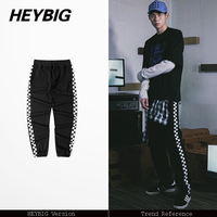 Japanese X American Truck Pants HIGH STREET Fashion Men Joggers Asian Size Hip Hop Trousers 2017