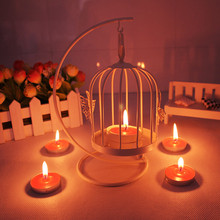 European style Butterfly Birds Iron Candlestick   Vintage Candle Holder Romantic Candlestick Home Party Wedding Home Decor