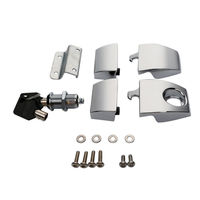 New Tour Pack Pak Latches For Harley Touring Electra Road Street Glide 2006 2013 12 11 10 FLHT FLHR FLHX Motorcycle