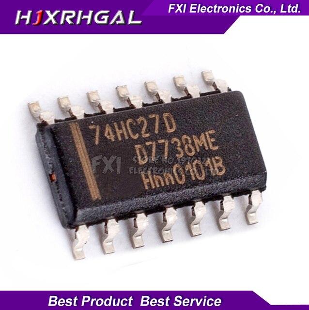10PCS 74HC27D 74HC27 SOP14 SOP SN74HC27DR SN74HC27 SMDใหม่