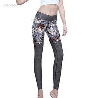 Recadrée Haute qualité Femmes Leggings Vintage Dot Floral 3D Imprimé Legins Colorant Gothique Fitness Capris Bodyshaper Mince Pantalon