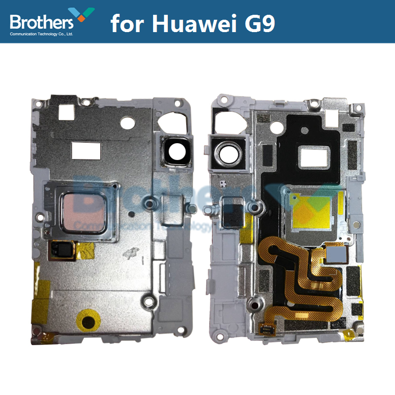 Fingerprint Sensor Plate For Huawei G9 Scanner Flex Cable Camera Lens Frame Holder For Huawei G9 Phone Replacement High Quality (1)