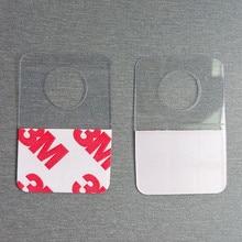 Special Offer Plastic PVC PET Hang Hanging Tab Hooks on Merchandise Package Bag Hangers Peghooks Display Self Adhesive 500pcs