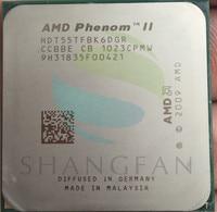 Free Shipping For Phenom X6 1055T X6 1055T 2 8GHz Six Core CPU Processor HDT55TFBK6DGR 125W
