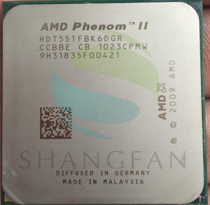 AMD Phenom X6 1055 T X6-1055T 2.8 GHz Six-Core CPU Processeur HDT55TFBK6DGR 125 W Socket AM3 938pin