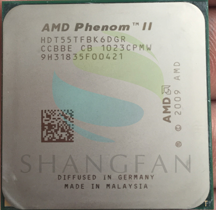 AMD Phenom X6 1055T X6-1055T 2.8GHz Six-Core CPU Processor HDT55TFBK6DGR 125W Socket AM3 938pin