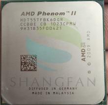 AMD Phenom X6 1055 т X6-1055T 2.8 ГГц шестиядерный Процессор процессор HDT55TFBK6DGR 125 Вт разъем AM3 938pin