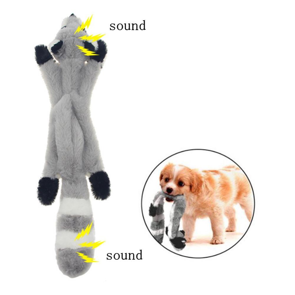 Lindos juguetes de peluche con sonido para mascota 2