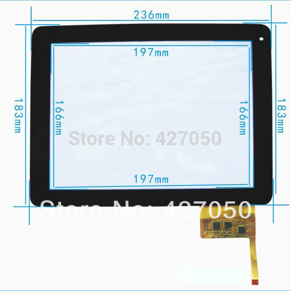 New Black 9.7 inch Explay Informer 921 Tablet 12pins touch screen digitizer glass touch panel Sensor replacement Free Shippin explay для смартфона explay craft