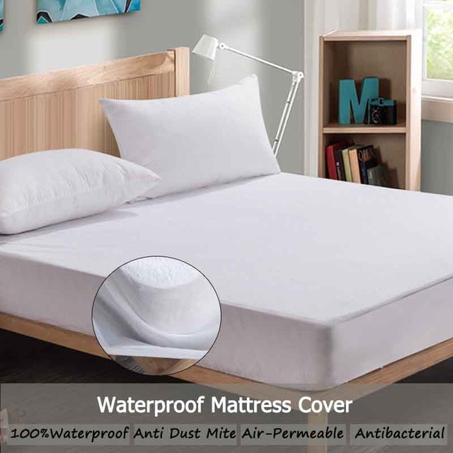 Waterproof Mattress Cover Breathable Mattress Pad Cover Bed Bug