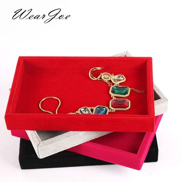 1pc Upscale Jewellery Decoration Accessories Storage Flat Holder