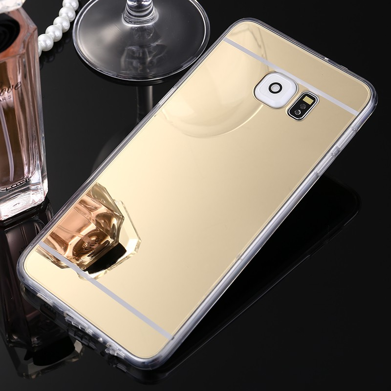For Samsung Galaxy J1 J2 J3 J5 J7 A3 A5 A7 2016 2017 S3 S4 S5 S6 S7 S8 Edge Plus Case Luxury Mirror Case Back Cover