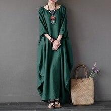 Vestido Longo Kaftan Robe