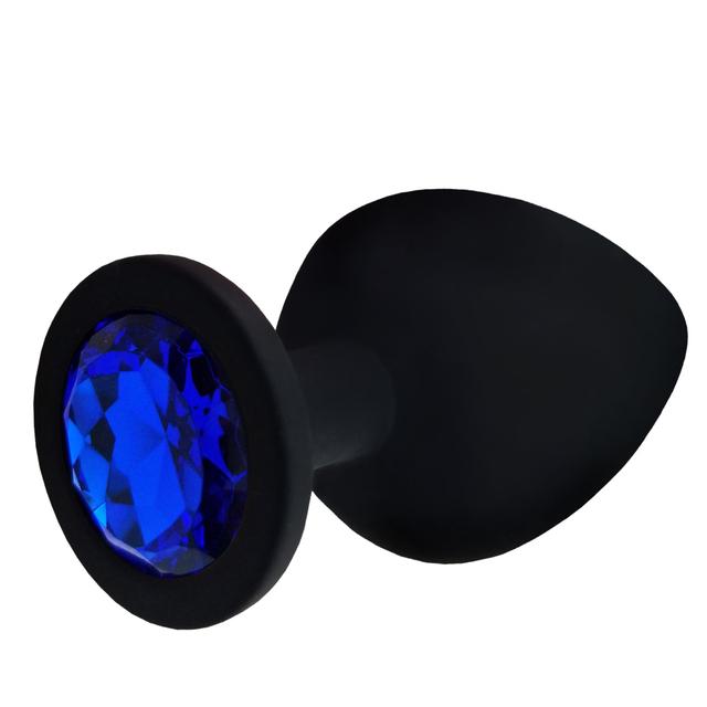 Soft Silicone Anal Dildo Butt Plug