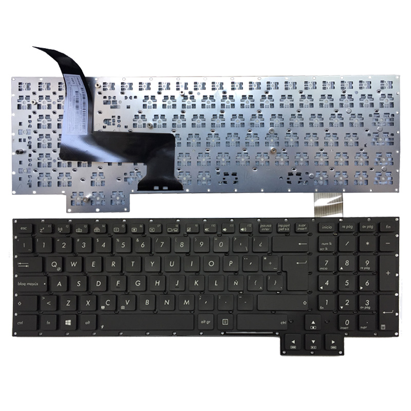 NEW Latin Laptop Keyboard For Asus G750 G750JH G750JM G750JS G750JW G750JX G750JZ LA Black Keyboard
