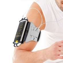 3.5-6 inch Running SmartPhone Armband 90 degree Rotatable Running Bag Belt Arm Strap Jogging Cycling Gym Arm Band Bag for iPhone